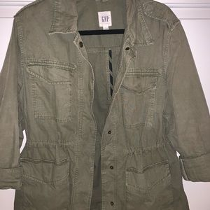 Gap Olive green utility jacket